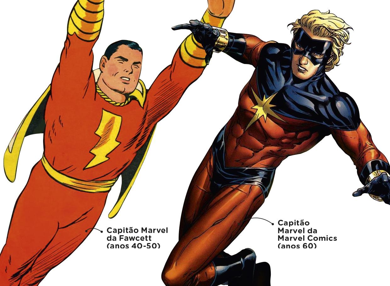 Por que o Capitão Marvel pertence à DC? | Super