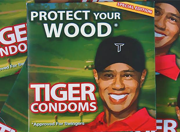Camisinha Tiger Woods