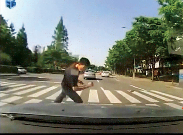 pedestre atropelado