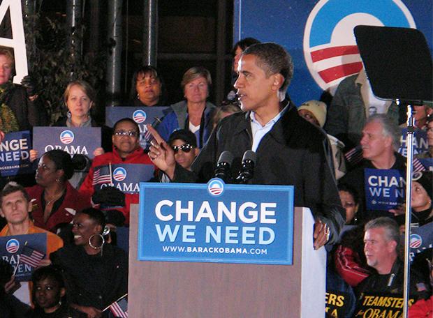 Obama hashtag