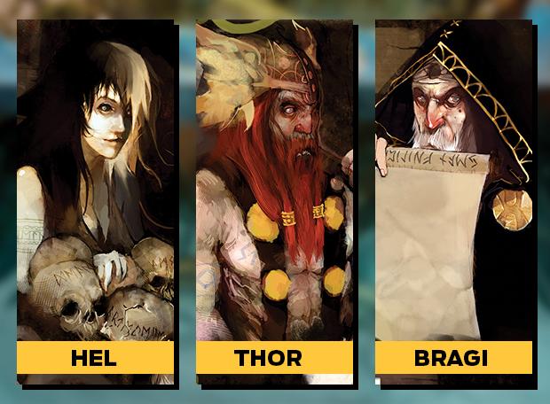 Hel Thor Bragi