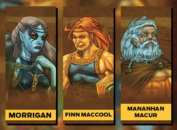 Morrigan FinnMaccool MananhanMacur