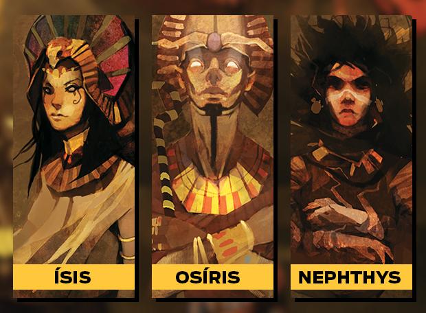 Ísis Osíris Nephthys