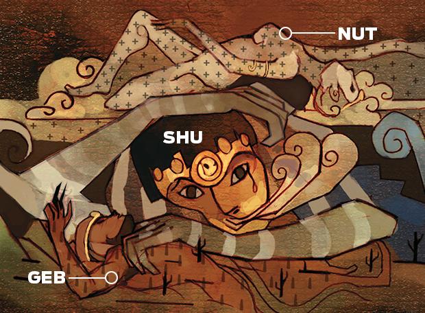 mito Criação Egípcios