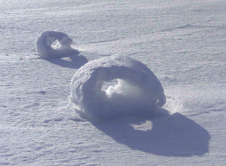 anéis de neve