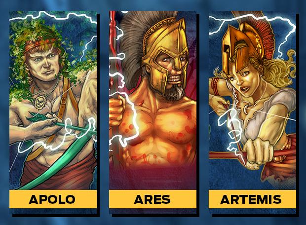 Apolo Ares Artemis