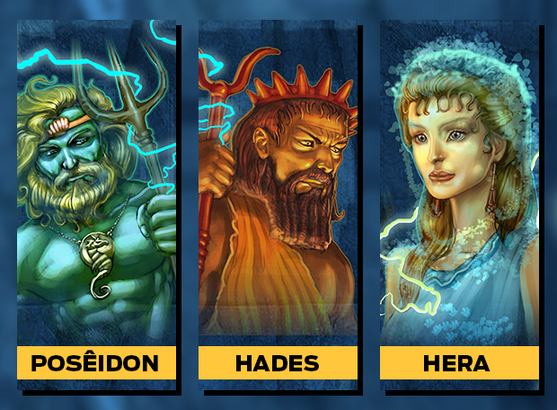 Poseidon Hades Hera