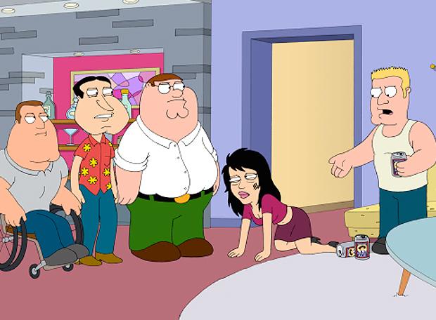 Family Guy Violência Doméstica