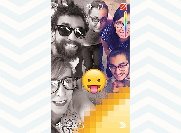 Snapchat Redação