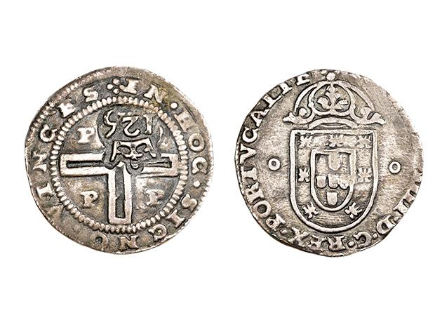 moeda Carimbo