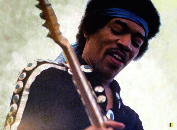 1 Jimi Hendrix