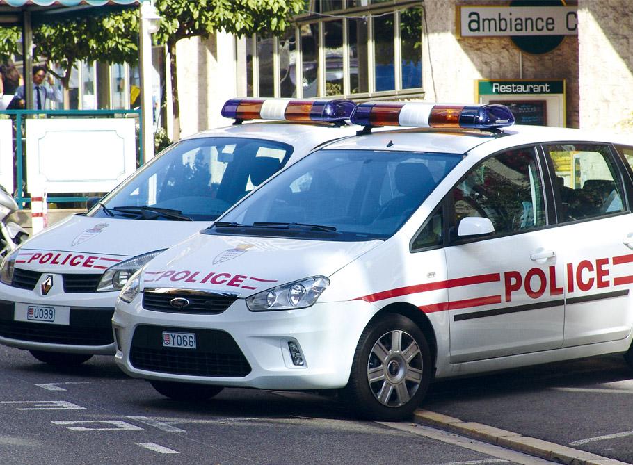monaco - polícia