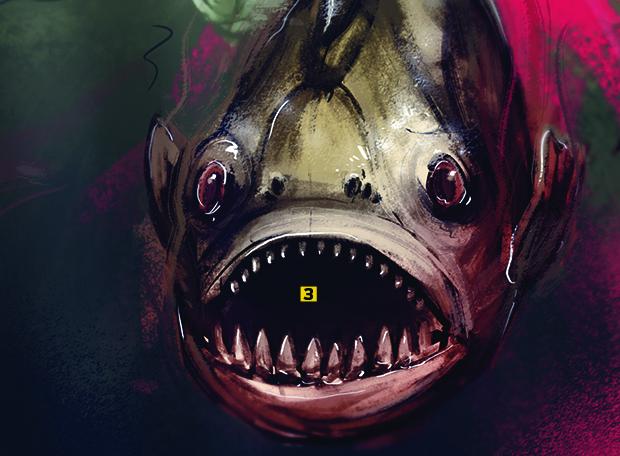 Piranha boca