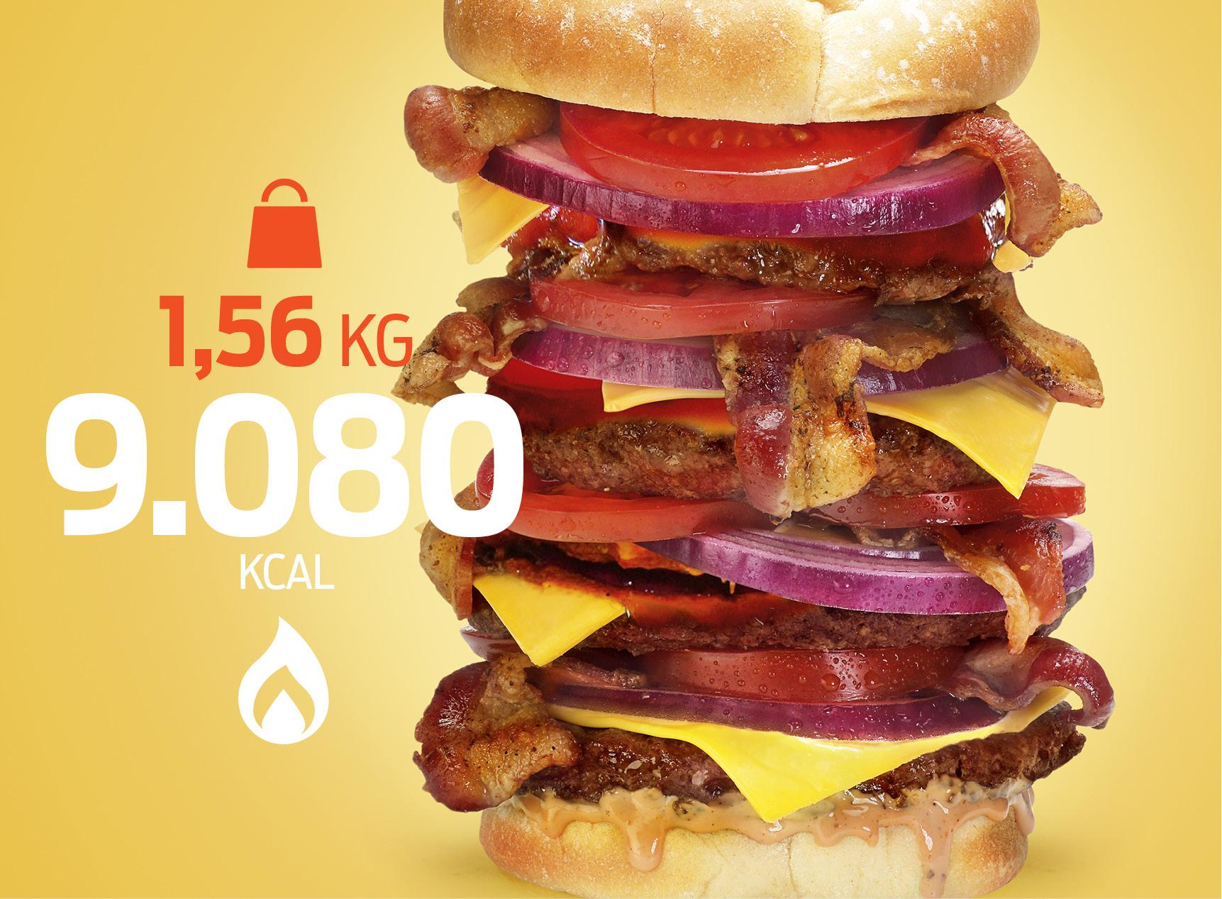 Fast food mais gorduroso do mundo1