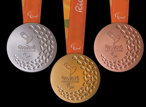 Medalhas Paralimpíada