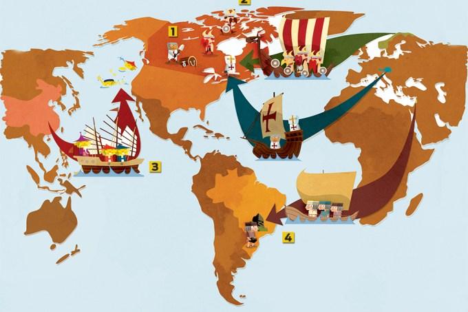 Quem descobriu a América antes de Colombo?