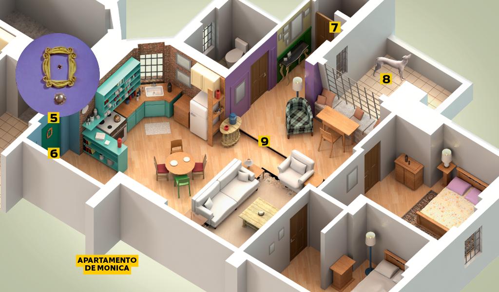 Apartamentos de Friends3