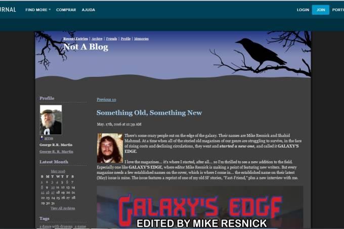 Atualizando o seu blog com aparência dos anos 90