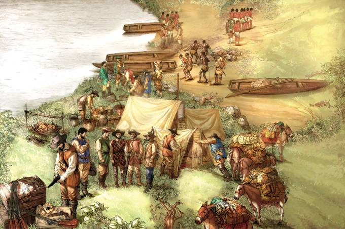 Como era uma expedição dos bandeirantes?