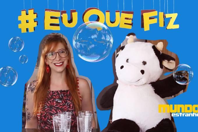 #EuQueFiz – bolhas
