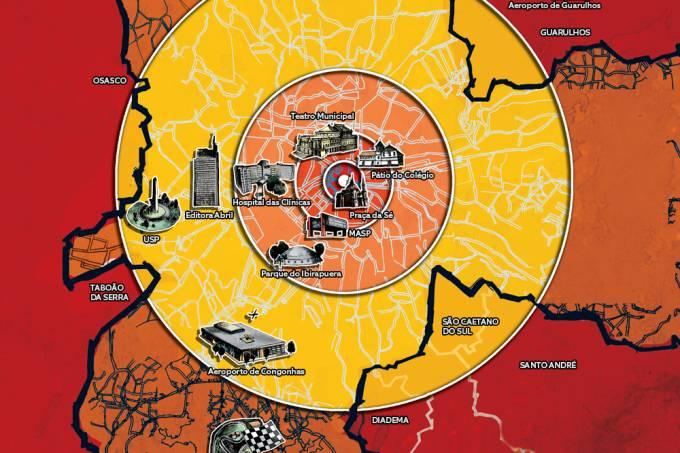 O que aconteceria se uma bomba nuclear caísse em São Paulo?