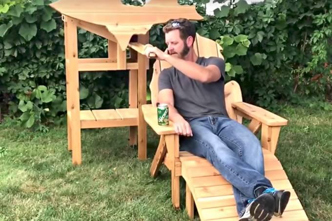 Invenção é um exemplo de que nada impede o homem de aproveitar uma cerveja