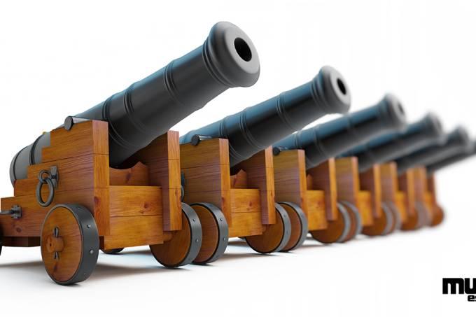 Como funciona o canhão? – Redes Sociais
