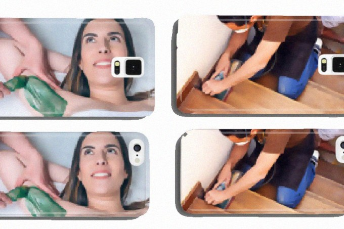 Robô da Amazon cria capas de celulares com fotos de bancos de imagem