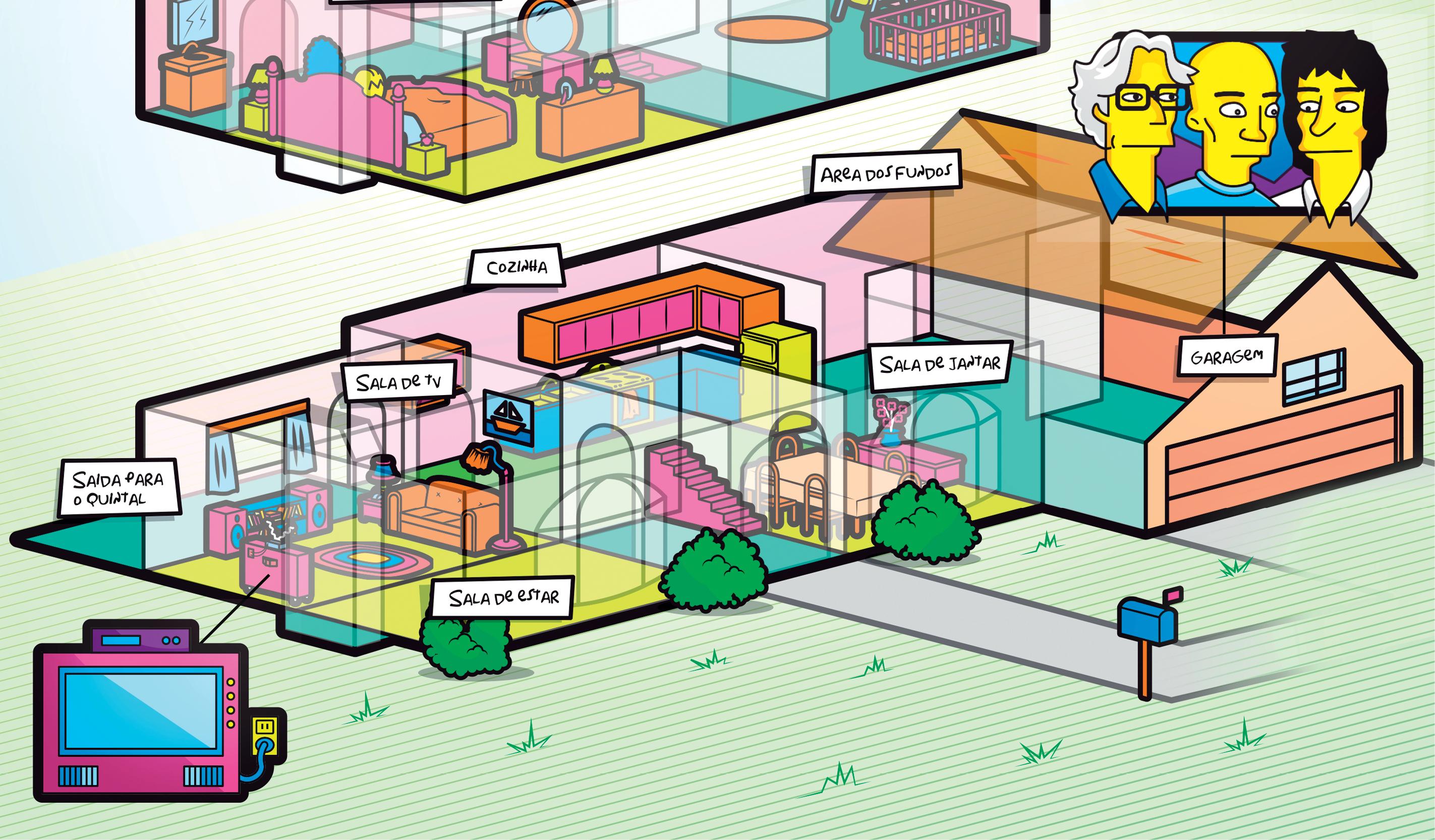 Casa dos Simpsons_Mundo Estranho3