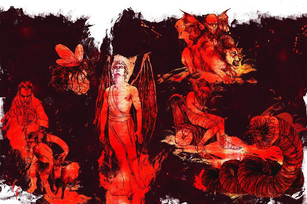 Céu ao inferno