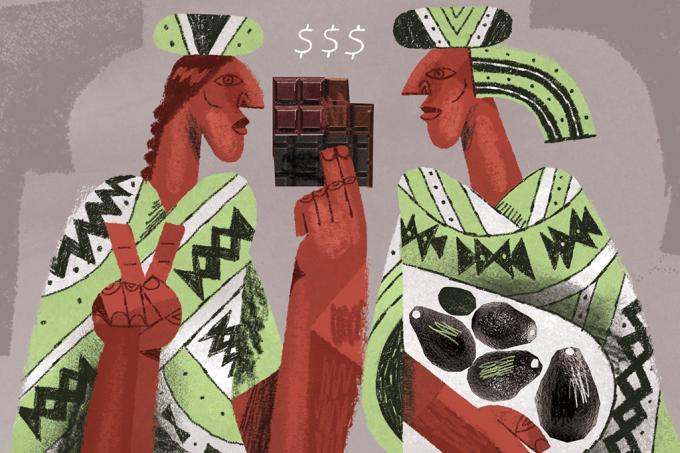 Chocolate pode ter servido como moeda para os maias