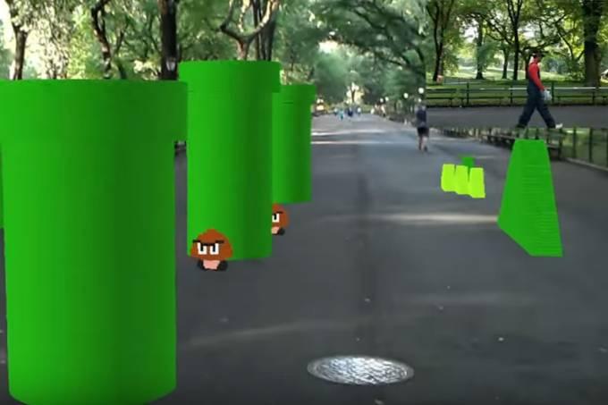 Veja uma demonstração do que o HoloLens da Microsoft consegue fazer