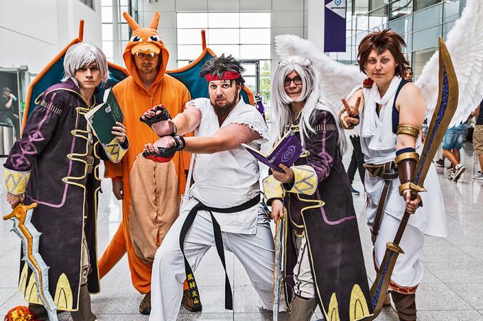 convenção-geek-gamescon