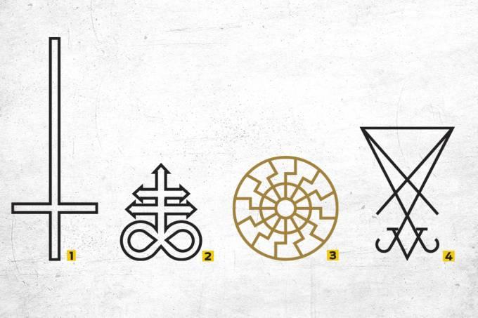 Símbolos do mal