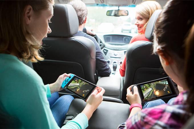 Nintendo afirma que disponibilizou unidades demais do Switch no lançamento