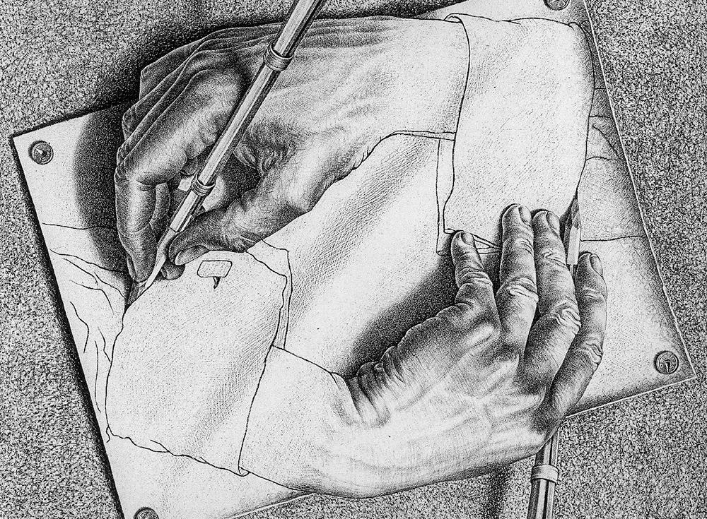 escher_desenhando