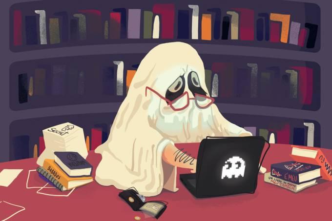 O que é um escritor-fantasma?