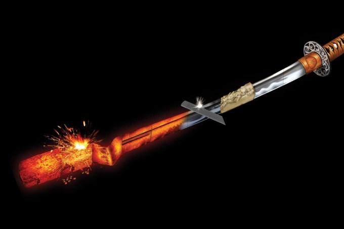 Como uma espada é forjada?