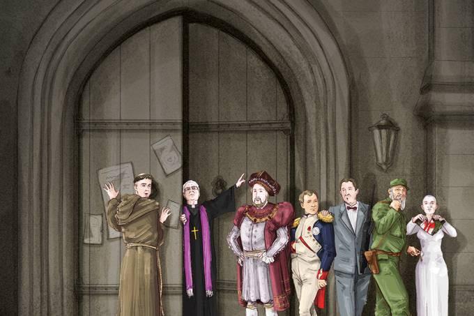 Que pessoas famosas já foram excomungadas da Igreja?