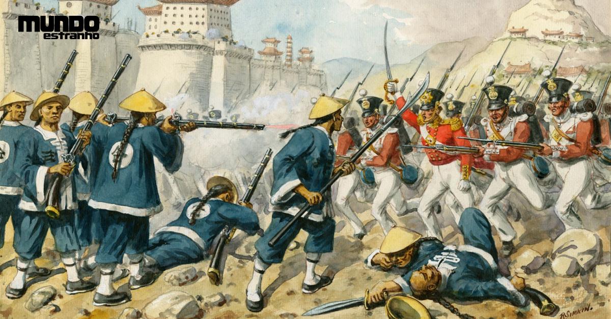 O que foi a Guerra do Ópio? | Super