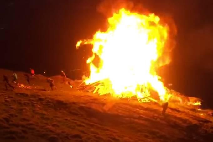 Vídeos mostram o porquê de você precisar tomar cuidado com fogo