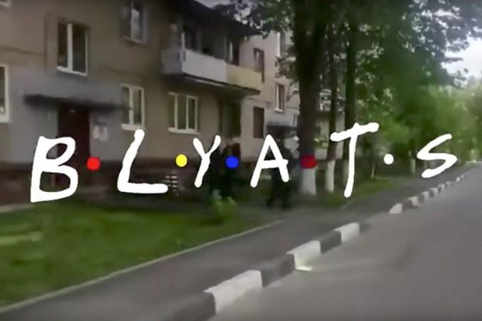 """A versão russa de """"Friends"""" é o epítome de uma amizade"""