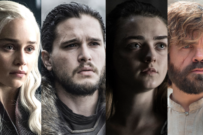 As jornadas de Game of Thrones