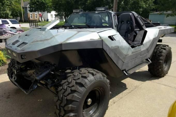 Fã de Halo constrói versão real do veículo da franquia