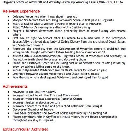 harry-potter-resume