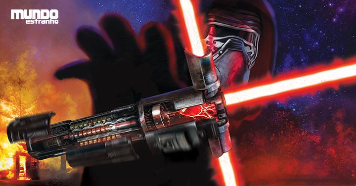 Nave espacial da série Star Wars Rebels Sabre De Luz Duplo o Inquisidor