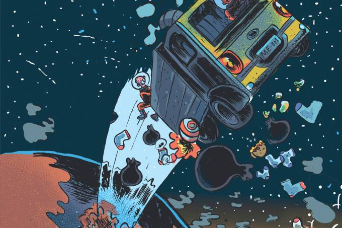 Por que não enviamos lixo para o espaço?