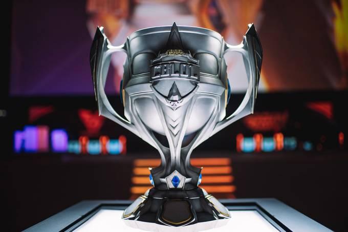 Um dia na final do campeonato brasileiro de League of Legends