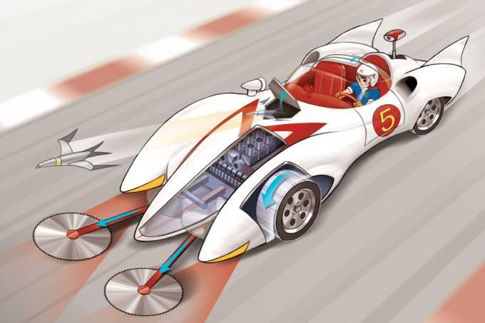 O Mach 5 de Speed Racer