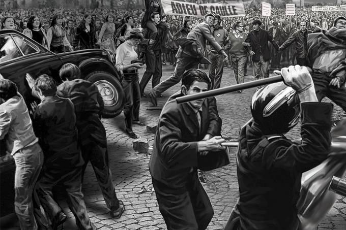 Maio 68 – destaque